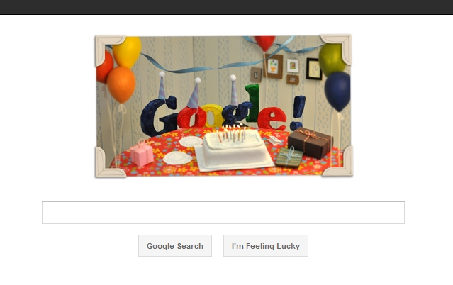 The Google 13th Birthday Doodle is a Doodle from Google