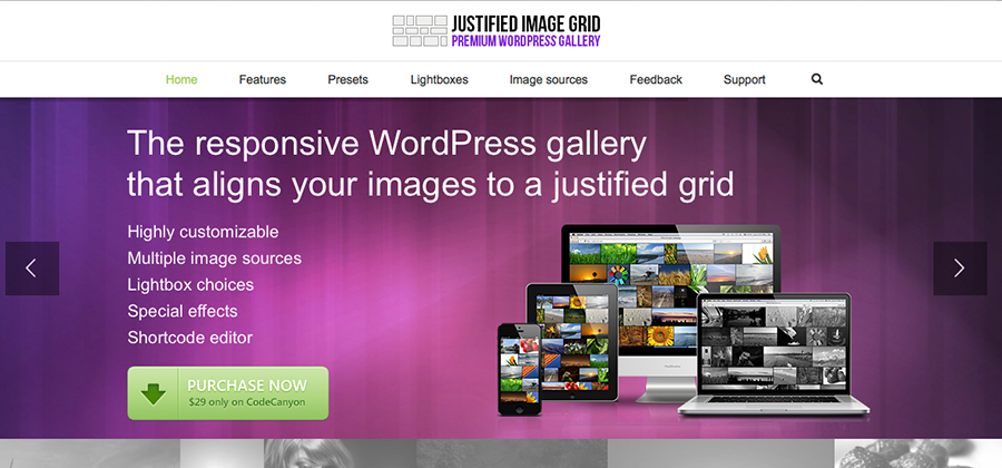 Justified-Image-Grid-Featured-image