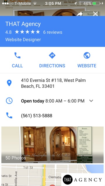 Google's Knowledge Panel | THAT Agency West Palm Beach