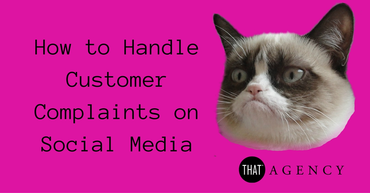 How to Handle Customer Complaints on Social Media