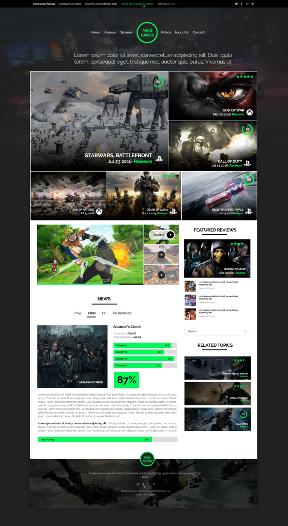 Game Review Template | THAT Agency