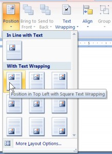 The Mega Menu was introduced in the 2007 Microsoft Word Program