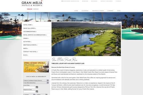 Gran Melia Puerto Rico Launches by That Agency