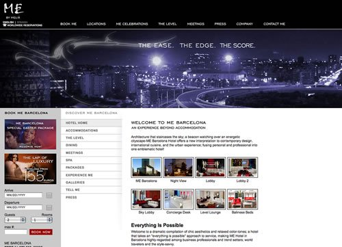 ME Barcelona by THAT Agency Web Design Company