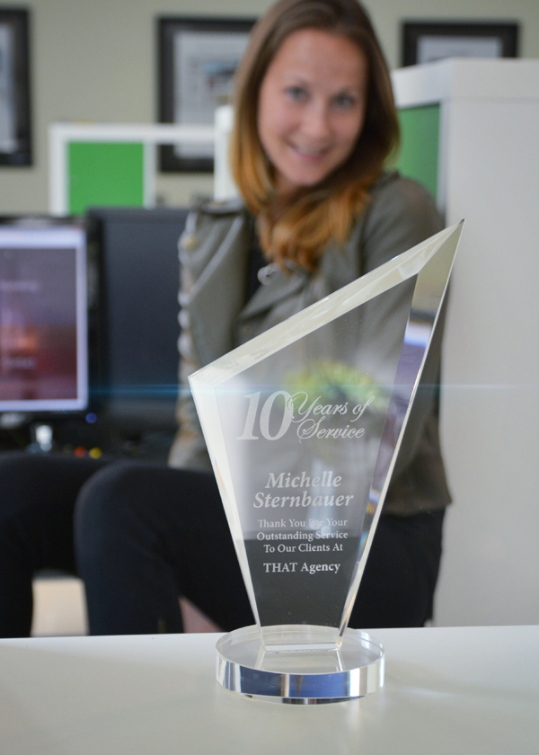 Michelle Sternbauer Celebrates 10 Years at THAT Agency