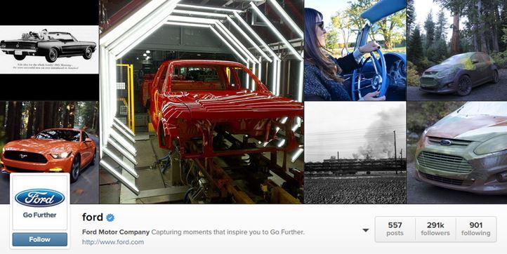 Ford Instagram