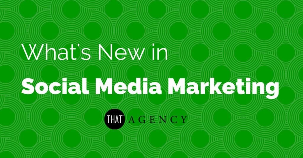 Social media marketing news