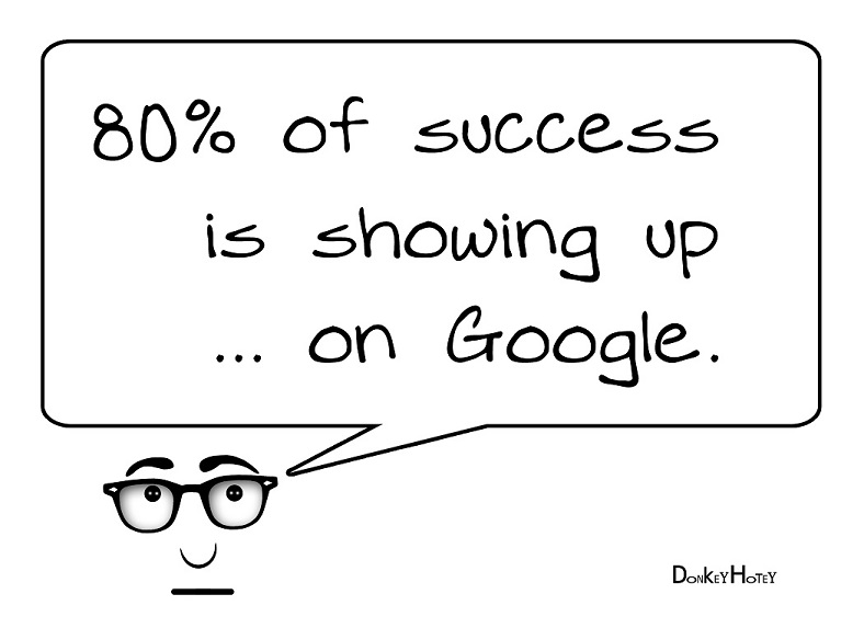 80% of Success is Showing Up on Google | SEM Services