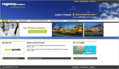 Regency Centers Property Management System