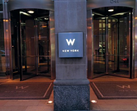 The W Hotel in NYC, now offering a social media concierge for weddings.