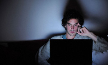 Is this you at night, reading and sharing?