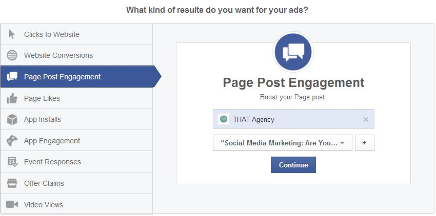 Promote Facebook Posts