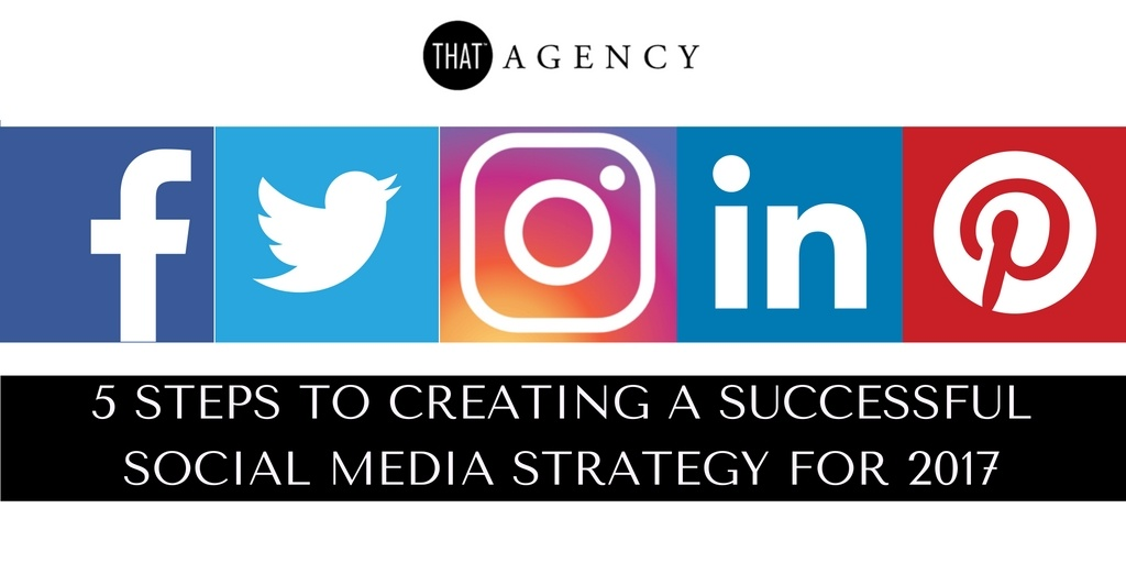 Creating a Successful Social Media Strategy | THAT Agency