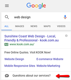 Click To Message Ad Extension