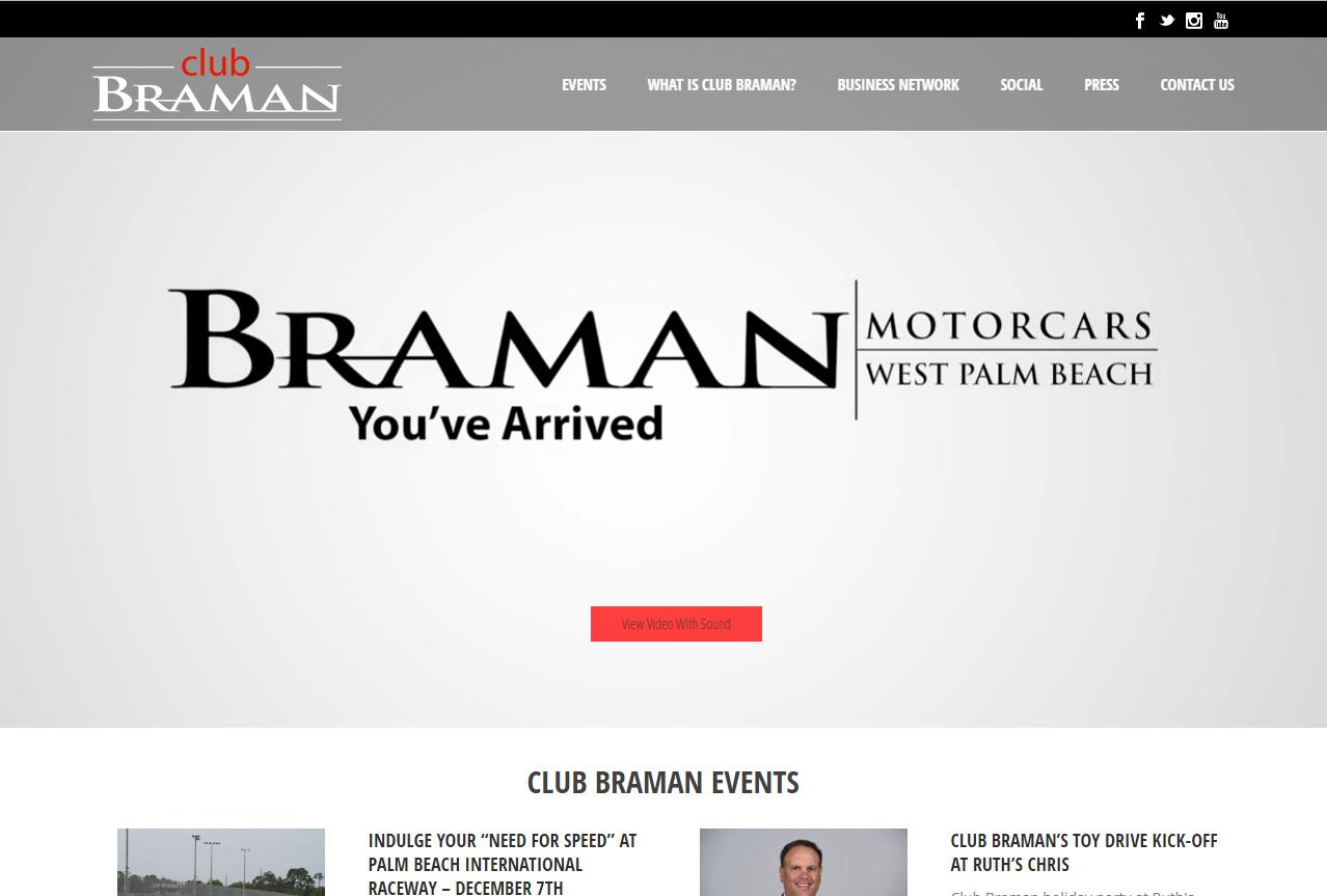 Club Braman Home Page