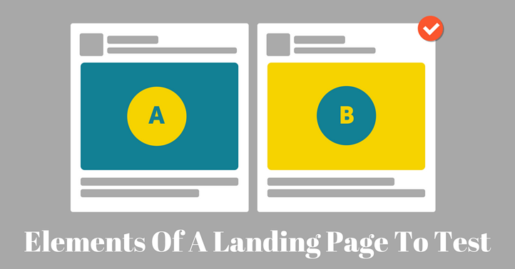 Elements of a Landing Page to test
