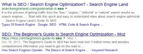 Google's Extended Title Tag and Meta Descriptions   THAT Agency