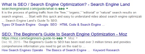 Google's Extended Title Tag and Meta Descriptions | THAT Agency