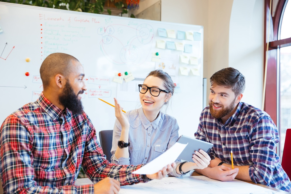 Brainstorming can help generate content marketing ideas   THAT Agency