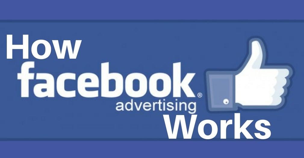 Facebook ad striptease