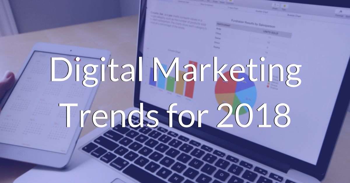 Digital Marketing Trends for 2018   THAT Agency