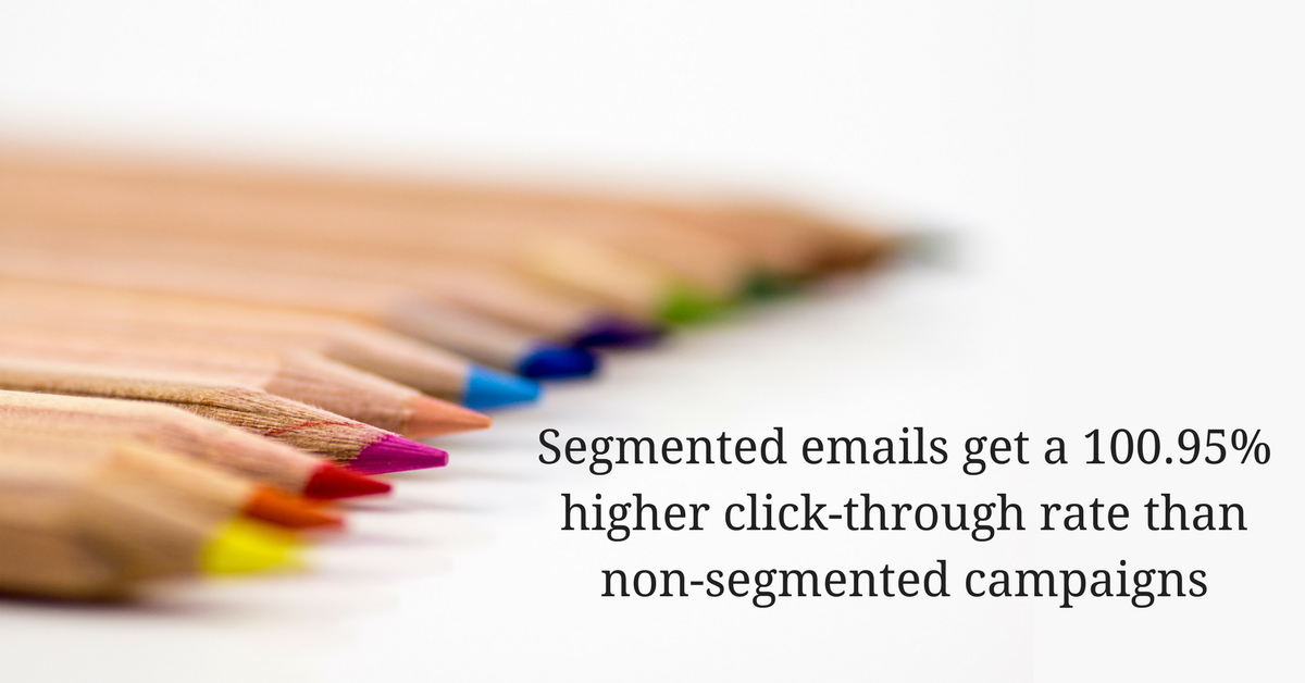 Restaurant Email Marketing - Segment your Audience