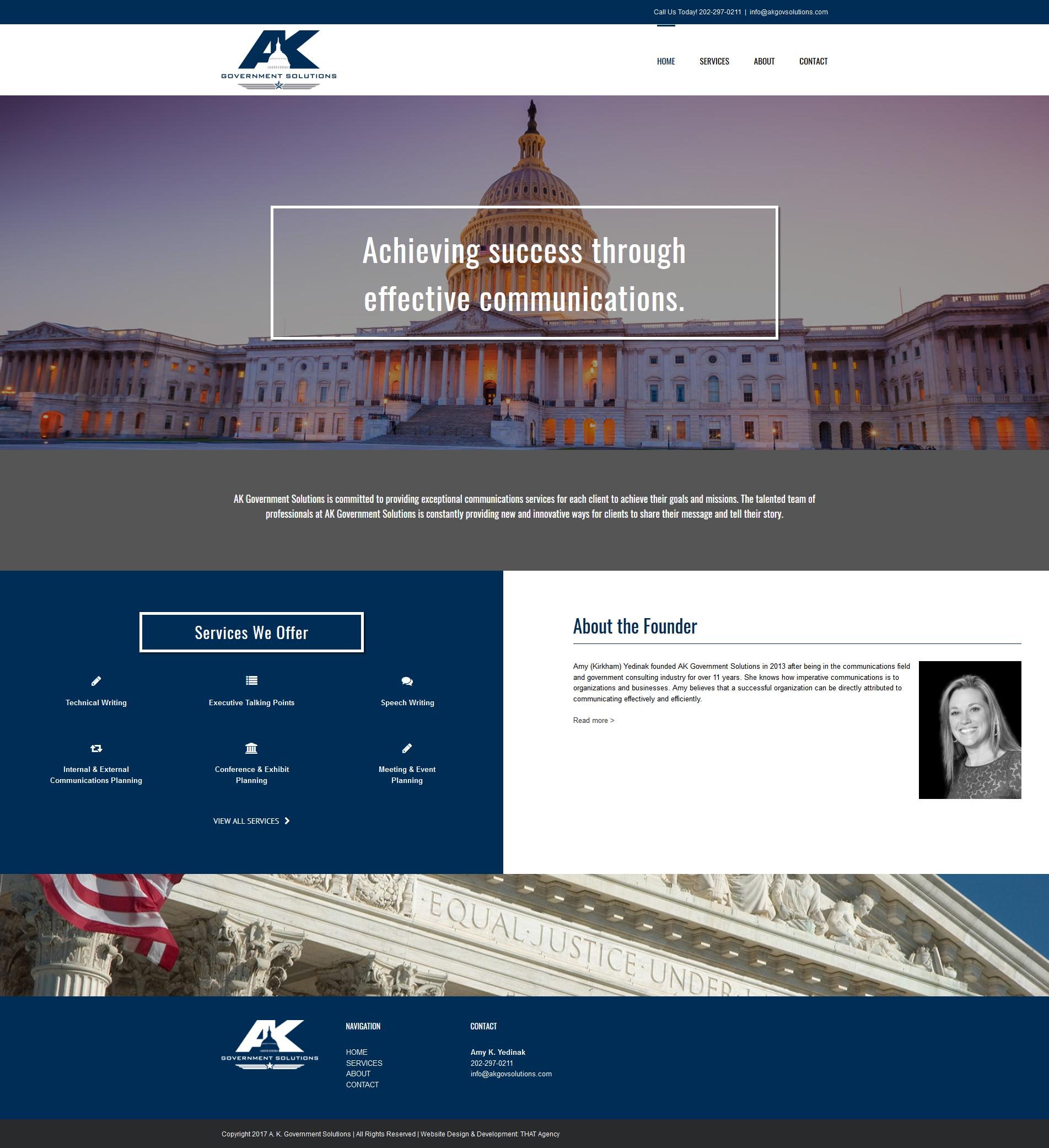 AK Government Solutions Website Redesign Case Study