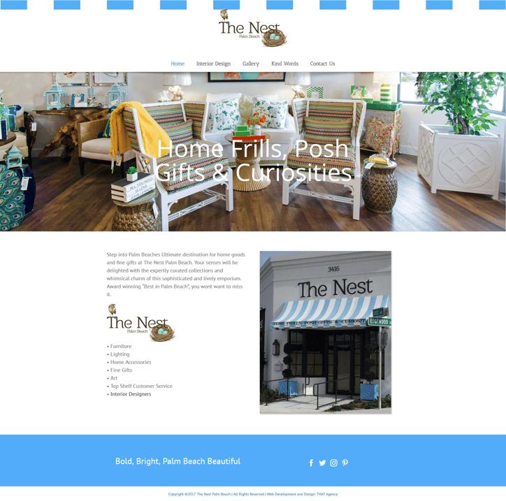 Nest Palm Beach Website Redesign Case Study