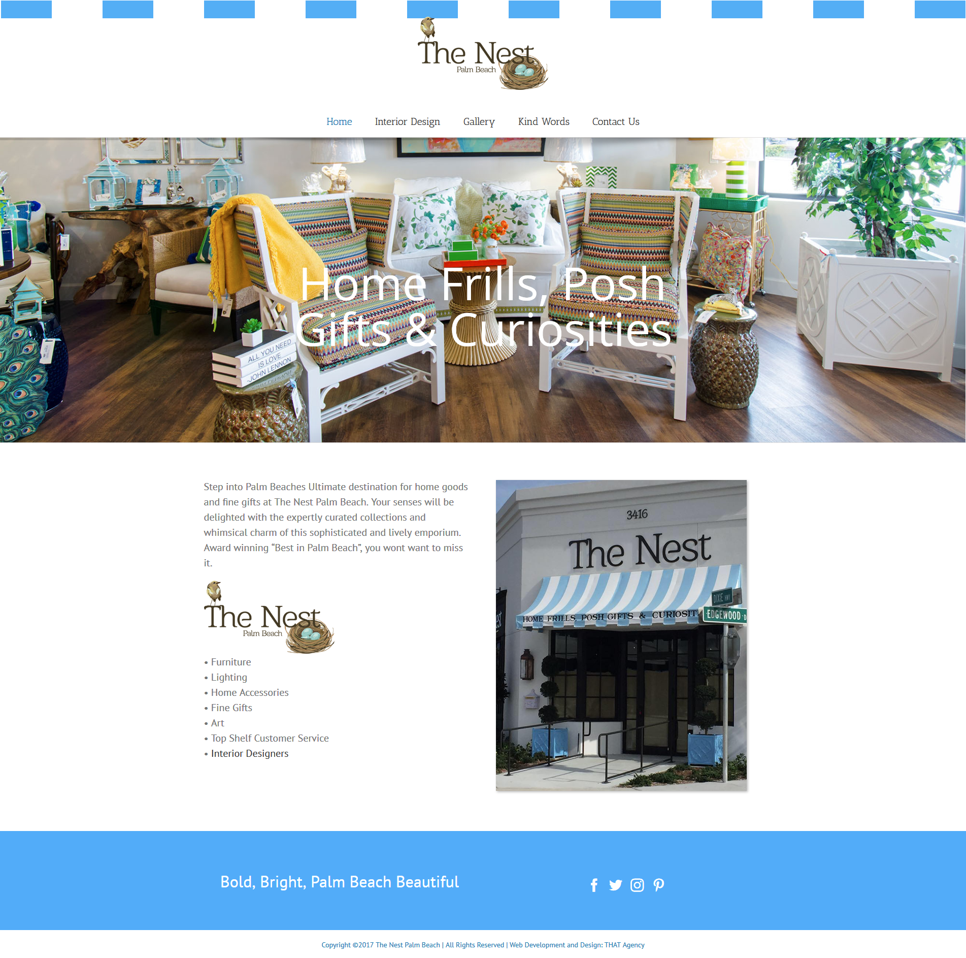 Nest Palm Beach Website Redesign Case Study