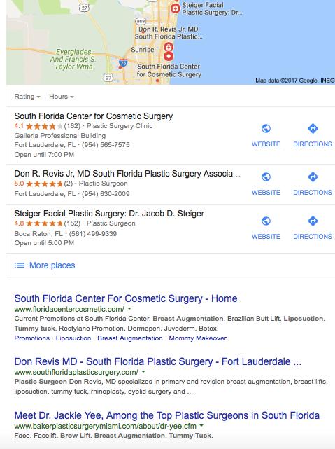 Plastic Surgery SEO | THAT Agency