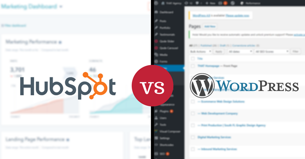 CMS Comparison: HubSpot vs. WordPress | THAT Agency