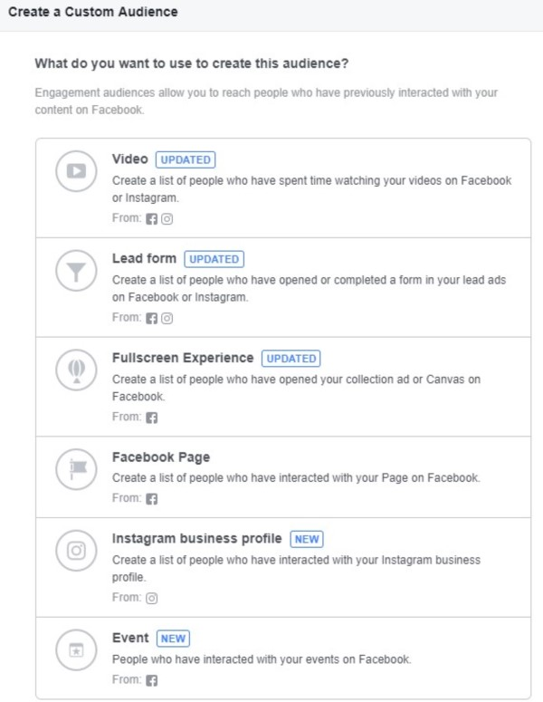 Create a Custom Audience on Facebook   Social Media Advertising   THAT Agency