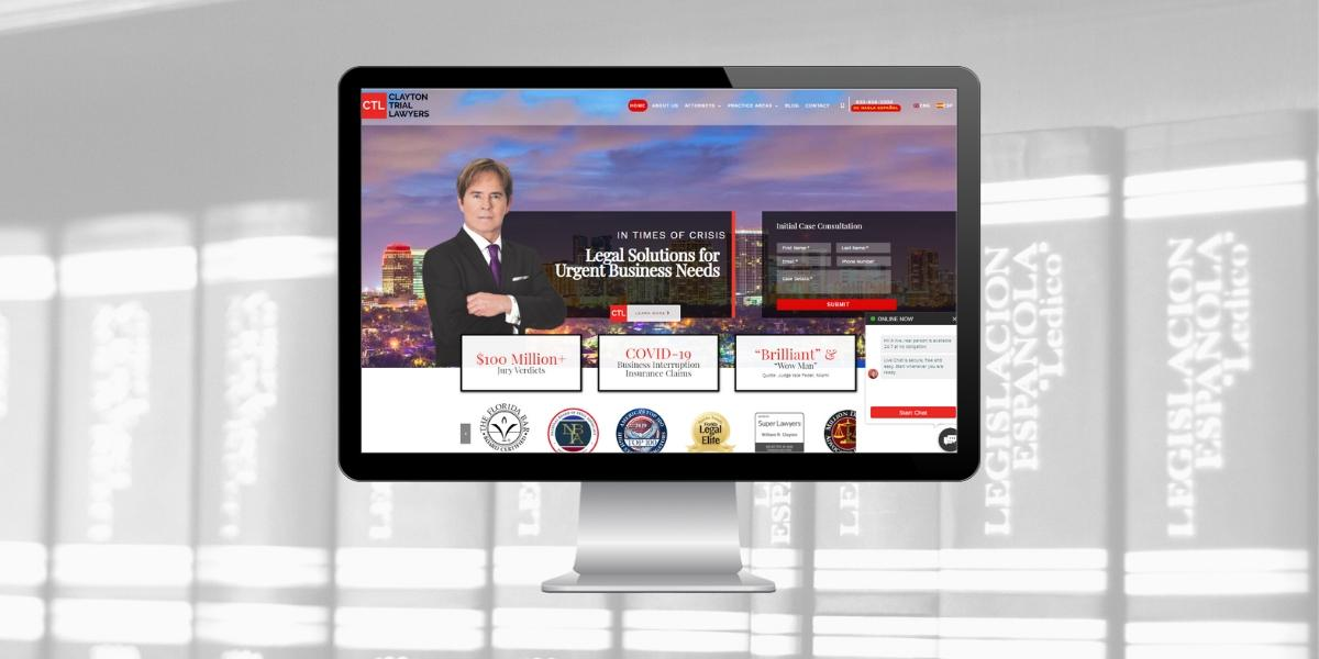 New Website for Law Firm in Fort Lauderdale, Florida