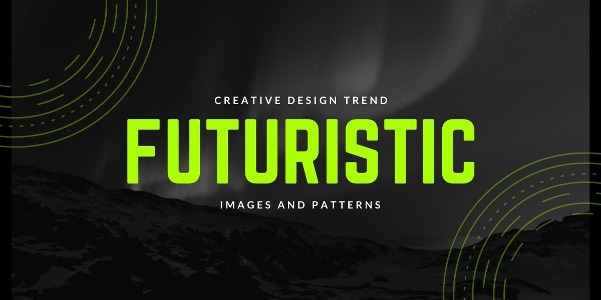 A text-heavy futuristic design exemplifying one of the top website design trends for 2020 and 2021