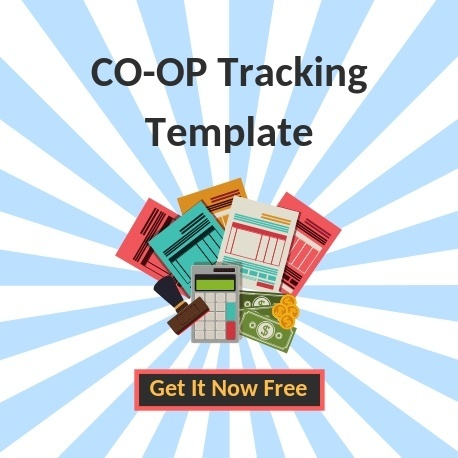Free Co-Op Marketing Tracking Template | Microsoft Excel File | THAT Agency