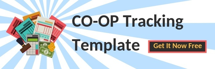 Free Co-Op Marketing Tracking Template | THAT Agency