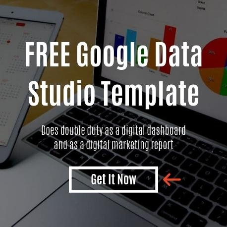 FREE Google Data Studio Template | Digital Marketing Report | THAT Agency of West Palm Beach, Florida