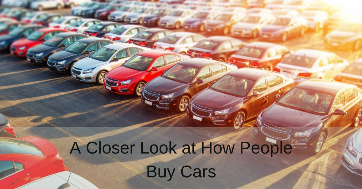 A Closer Look at How People Buy Cars