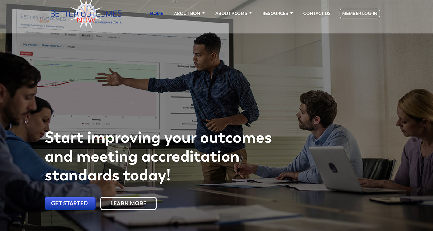 New Website for Better Outcomes Now | THAT Agency