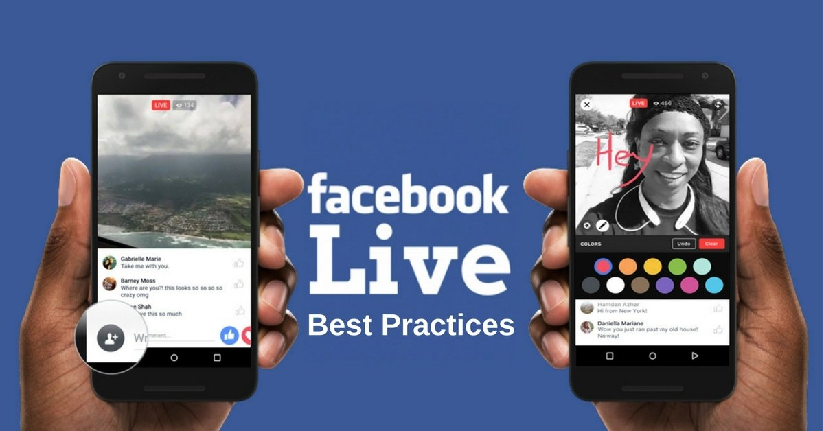 Best Practices for Facebook Live Videos   THAT