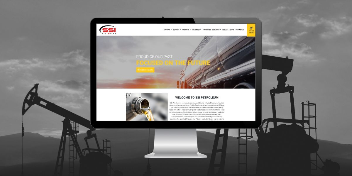 THAT Agency Develops New Website for SSI Petroleum