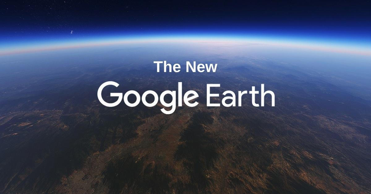 Digital Update: The Incredible New Google Earth