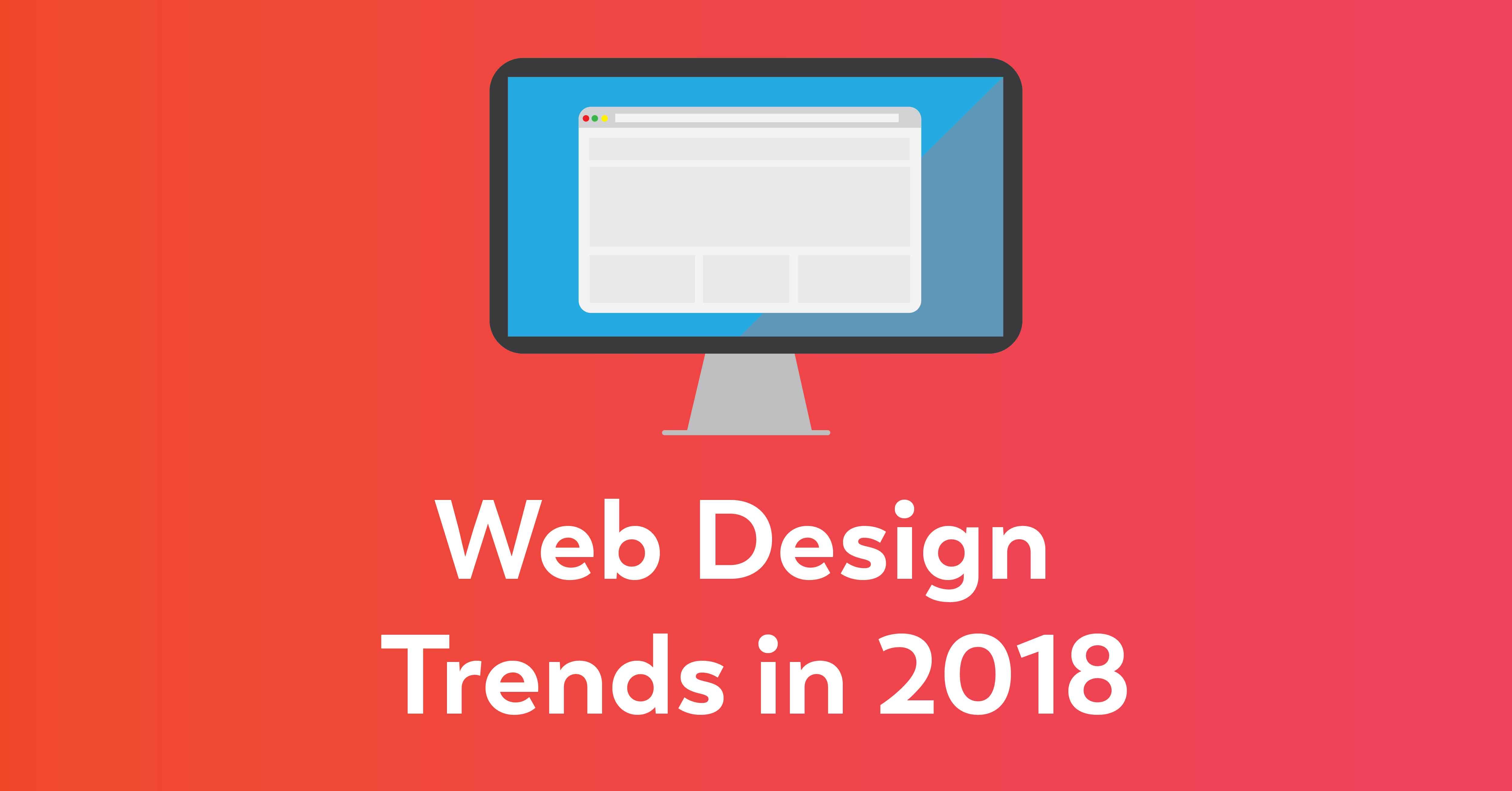Web Design Trends in 2018