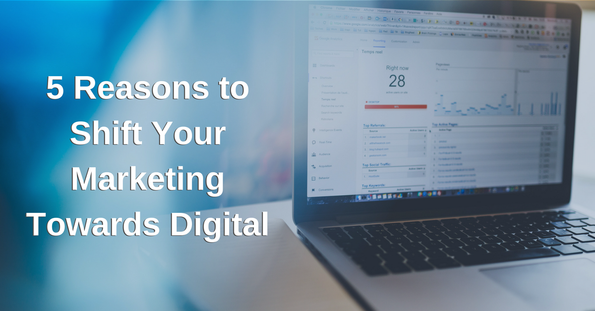 5 Reasons to Focus Your Plastic Surgery Marketing on Digital