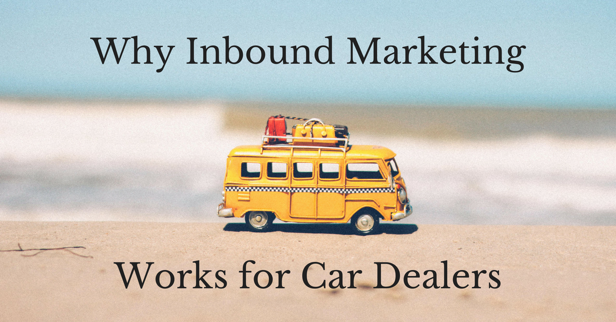 Why Inbound Marketing Works for Car Dealers