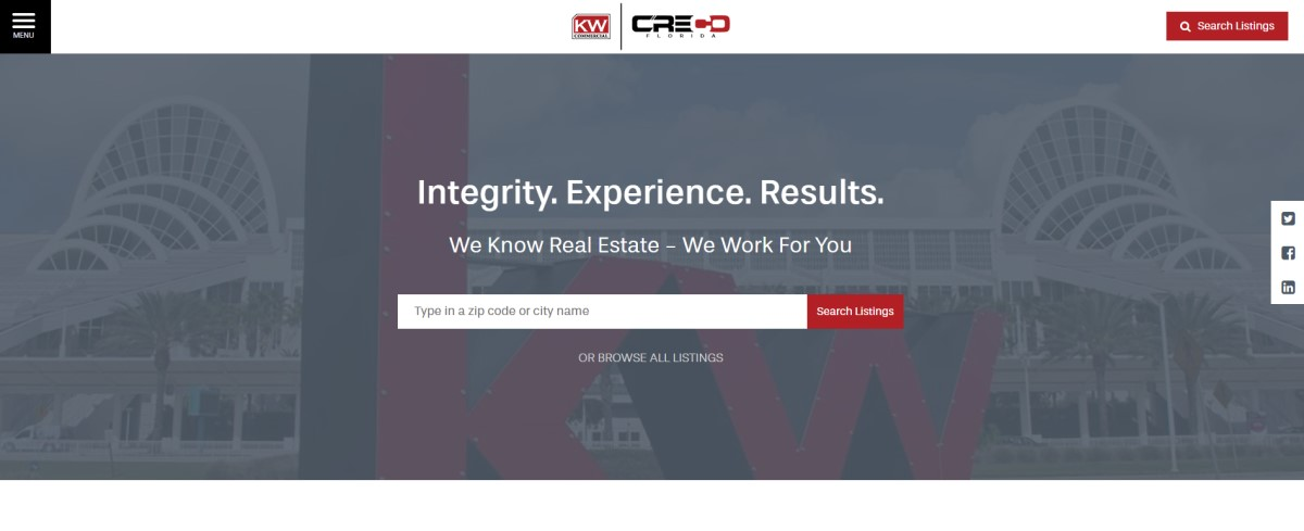 Real Estate Website Design Companies | Commercial Real Estate Website Design | THAT Agency