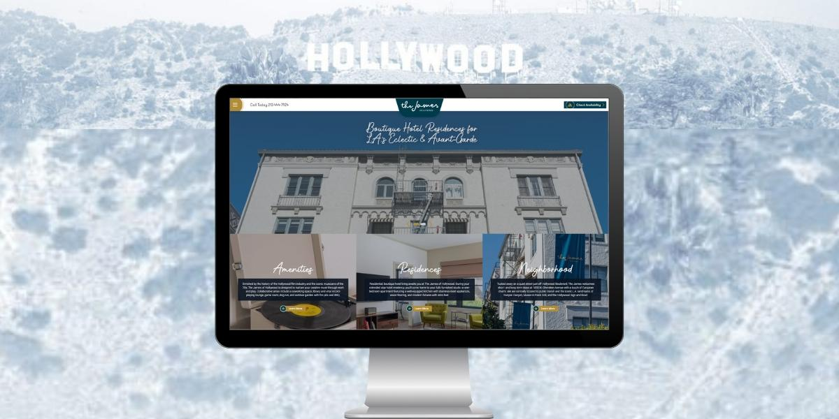 Elegant New Website Design for Boutique Hotel and Residence