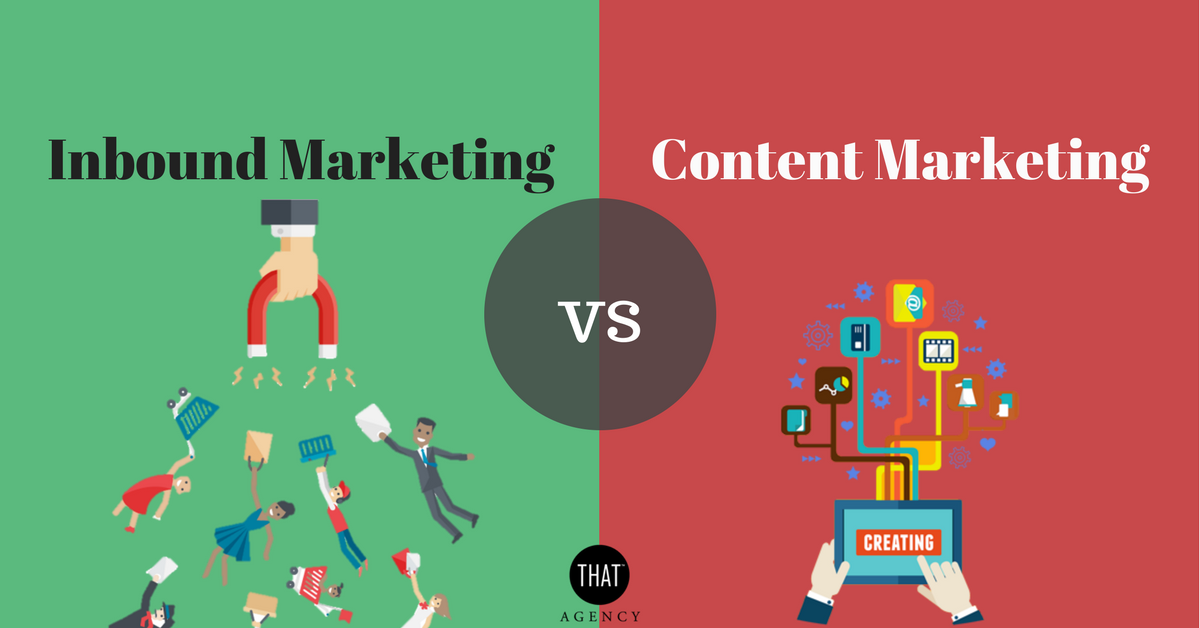 Inbound Marketing vs Content Marketing | THAT Agency